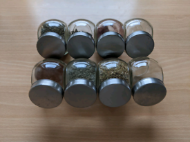 Kitchen preserve jars