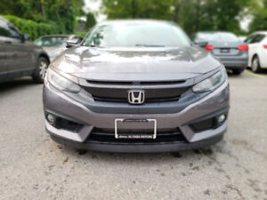 2016 HONDA CIVIC SEDAN 4DR CVT TOURING. WIRELESS CHARGING