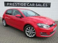 2013 Volkswagen Golf 2.0 TDI GT (s/s) 5dr Diesel red Manual