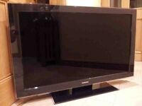 "Samsung 46"" HD TV - comes with two remotes collection Derby"