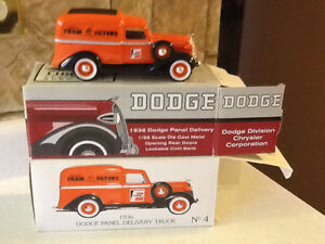 RARE DIE CAST FRAM FILTERS 1936 DODGE PANEL DELIVERY TRUCK
