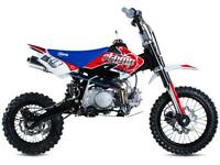 STOMP SUPERSTOMP 120 10YR ANNIVERSARY PIT BIKE MOTO CROSS OFF ROAD MONKEY BIKE