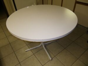 Delux Round Patio Table or Kitchen Table