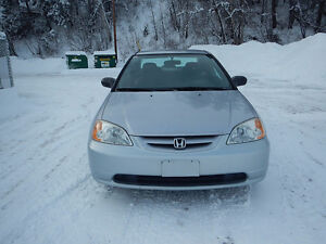 2002 Honda Civic LX Coupe (2 door) - Remote Starter