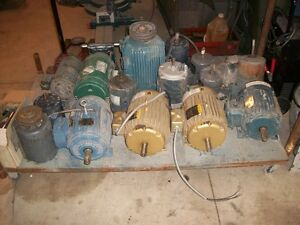 Electric Motors from $75 and up