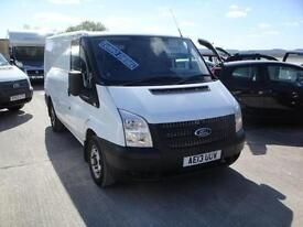 2013 Ford Transit 2.2 TDCi 260 100. 1 owner from new with FSH. SWB VAN.
