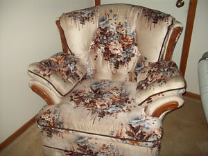 Living room couch& chair set