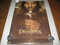 4-Funky 2003 LOTR >THE RETURN OF THE KING< *ARAGORN* Posters