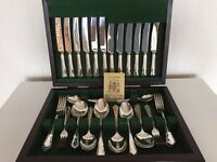 Silver Plated Cutlery Canteen