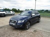 14 reg Audi SQ5 3.0BiTDI ( 313ps ) ( s/s ) 4x4 Tiptronic quattro estoril blue
