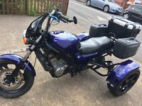 For sale or swap Honda ntv trike