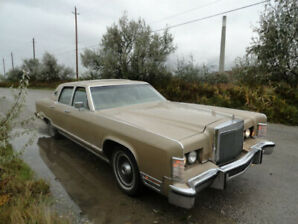 1979 Lincoln Continental Town Car (TITANIC) - $5000/BEST OFFER