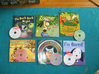 Primary Reading books with Animal Theme with CDs