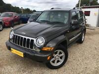 JEEP CHEROKEE LIMITED CRD Green Auto 2.8 Diesel, 2006
