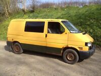 Vw Transporter T4 2.5 Tdi Acv/102hp 2001 Ex AA Breaking