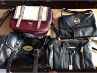 4 handbags - please look at picture