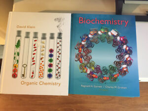 Textbooks - Biochem & Organic Chem