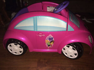Dora volkswagon beetle battery operated car