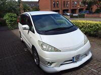Toyota Estima Aeras fresh import well modified by Toyota