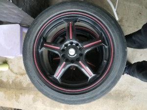 Nice Rims amd Tires 225 45 R17