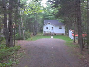 Cottage in the woods on the Little Bouctouche River(REVISED PRIC