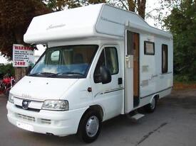 2007 Elddis Sunseeker 400RL 4 berth Motorhome 2.2 Diesel