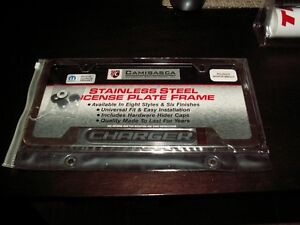 Dodge Charger stainless steel license plate frame Strathcona County Edmonton Area image 5