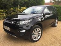 "2016 MY LAND ROVER DISCOVERY SPORT HSE 2.0 TD4 4X4 BLACK , TV , 20 "" ALLOYS"
