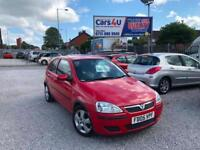 05 VAUXHALL CORSA ENERGY 1.3 CDTI IN RED DIESEL *12 MONTHS MOT* £995
