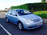 05 REG 2005 TOYOTA COROLLA 1.6 T3 COLOUR COLLECTION 4DR SALOON ***LOW MILEAGE***