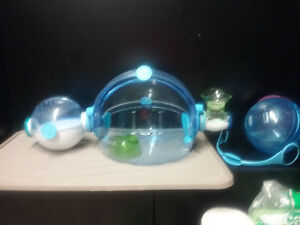 Hagen hamster cage and accessories