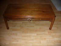 Teak Hardwood Coffee Table