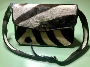 Vintage 1951 Ladies Zebra Purse from Africa