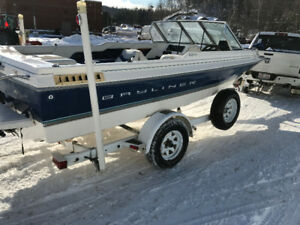 1998 Bayliner Fish and Ski with Trailer