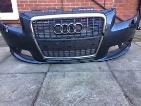 Audi A3 S Line 05-08 Front Bumper ORIGINAL