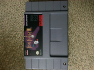 SNES Final Fantasy 3