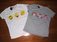 2 T-Shirt avec Emoji - NEUF Laval / North Shore Greater Montréal Preview