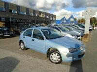 2005 (54) ROVER 25 1.4 5 Doors Blue Low Mileage New MOT FSH