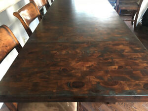 Unique Dining Room Table!