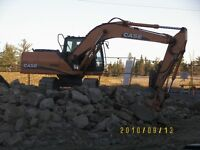 Gitter Done Excavation