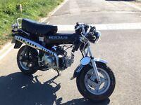 Road legal monkey pit bike Sky Team ST 50 Honda Dax scooter