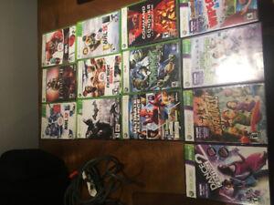 Console Xbox 360 + jeux