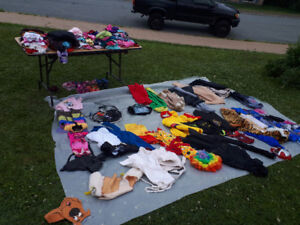 Huge two family yard sale rain or shine 10 George Street