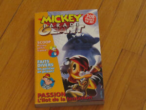 BD   --MICKEY PARADE GÉANT //  308 PAGES
