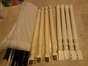 free turn wood table legs for your new DIY project.