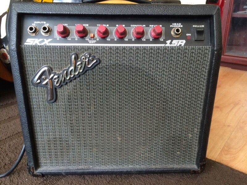 fender skx 15 r guitar amp in hackney london gumtree. Black Bedroom Furniture Sets. Home Design Ideas