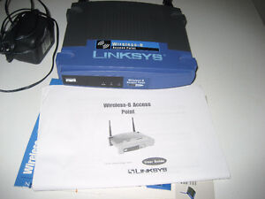 Linksys Wireless B Access Point router