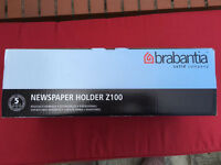 Newspaper holder. Brabantia. New, boxed.