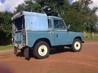 Land Rover Series 2a 1971 galv chassis