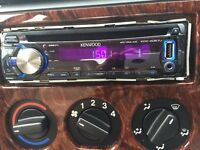 Kenwood Car Stereo USB/AUX CD MP3 Player